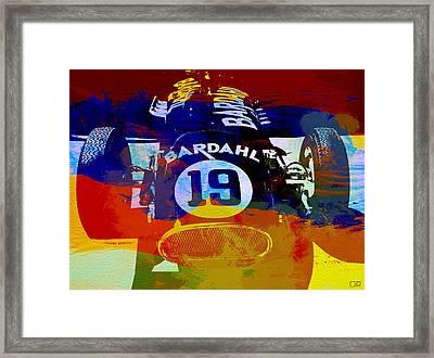 In Between The Races Framed Print by Naxart Studio