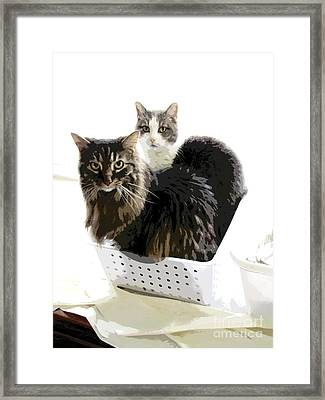 In It Together Framed Print by Ann Powell