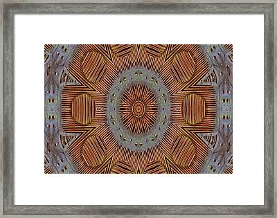 In Japan Style Framed Print by Pepita Selles