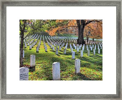In Memory  Framed Print by JC Findley