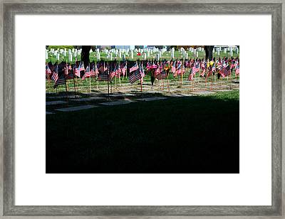 In Remembrance Framed Print by Lon Casler Bixby