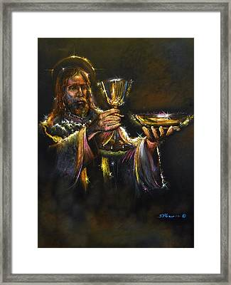 In Remembrance Of Me Ll Framed Print by Tommy  Winn