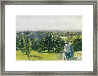 In Richmond Park Framed Print by John William Inchbold