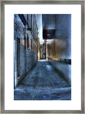 In The Alley Framed Print by Dan Stone