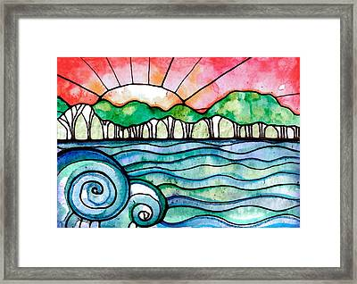 In The Distance Framed Print by Robin Mead