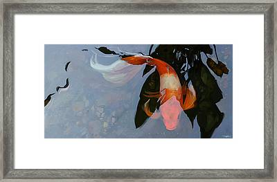 In The Shadows Framed Print by Steve Goad