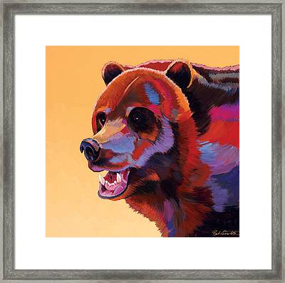 In Your Face Framed Print by Bob Coonts