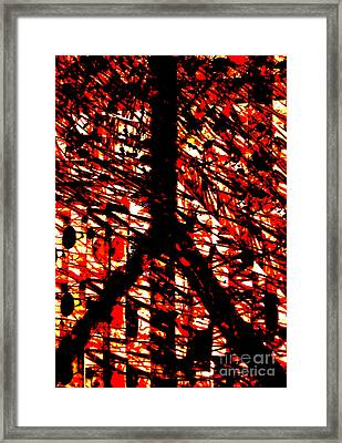 Inappropriate Oppressive Peace Framed Print by Robert Haigh