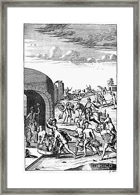 Inca Empire: Conquest Framed Print by Granger