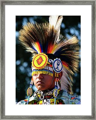 Incognito Framed Print by Diego Re