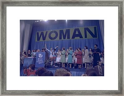Incumbent First Lady Rosalynn Carter Framed Print by Everett