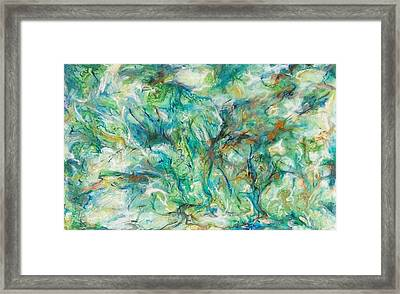 Incursion Framed Print by Hatin Josee
