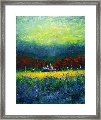 Independence Day Framed Print by Shannon Grissom