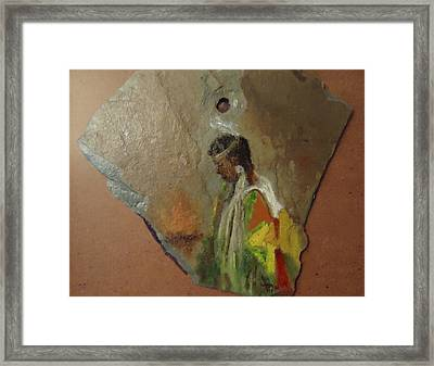 Indian Girl  Framed Print by Betty Pimm
