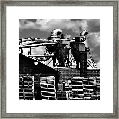 Industrial Building Framed Print by HD Connelly