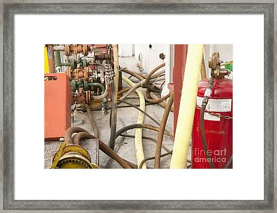 Industrial Interior Framed Print by Shannon Fagan