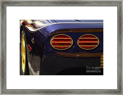 Indy Pace Car Framed Print by Dennis Hedberg