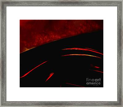 Inferno Framed Print by Gerlinde Keating - Galleria GK Keating Associates Inc