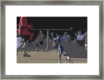 Infield Framed Print by Peter  McIntosh