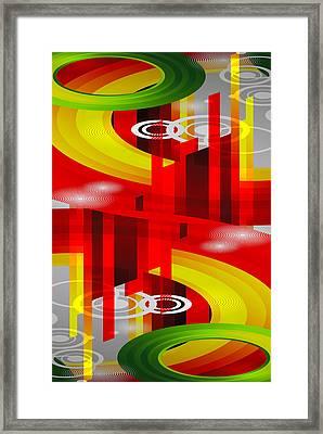 Information Superhighway Framed Print by Angelina Vick