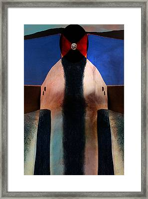 Inherent Number 1 Framed Print by Carol Leigh
