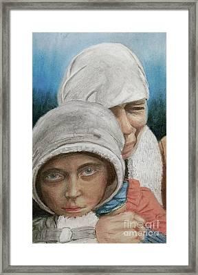 Inheritance Of Hate Framed Print by Jim Barber Hove