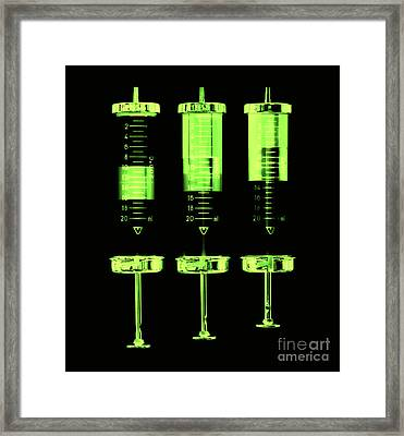 Injection Framed Print by Michal Boubin