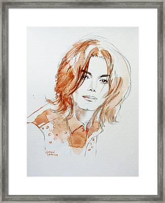 Inner Beauty Framed Print by Hitomi Osanai