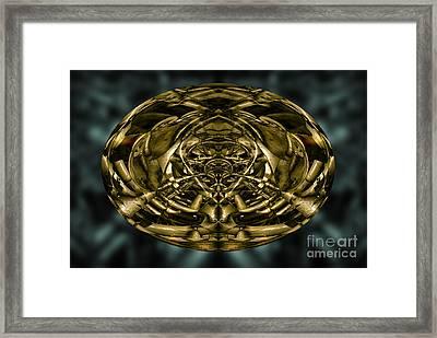 Inner World Framed Print by David Gordon