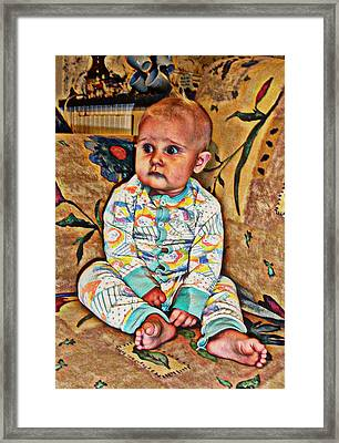Innocence 1 Framed Print by Camille Reichardt