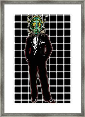 Insectoid Fashion 1 Framed Print by Travis Burns