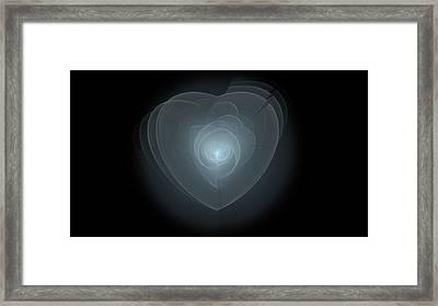 Inside A Scorned Heart Framed Print by Pennie Gibson