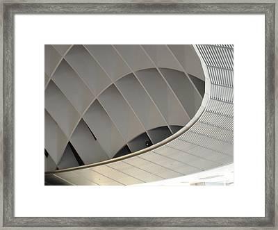 Inside Fuji Building Framed Print by Naxart Studio