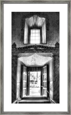 Inside Outside Worlds Framed Print by Steven Ainsworth