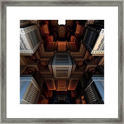 Inside The Box Framed Print by Ricky Jarnagin