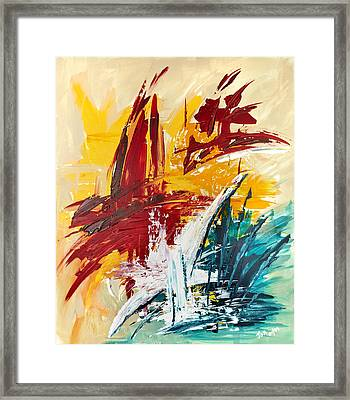 Inspiration Meese I Framed Print by Thomas Kleiner