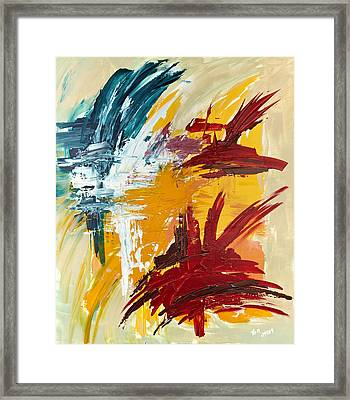 Inspiration Meese II Framed Print by Thomas Kleiner