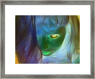 Intense  Framed Print by Penny  Elliott