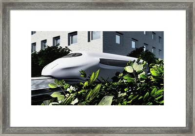 Inter City Transport Framed Print by Richard Rizzo