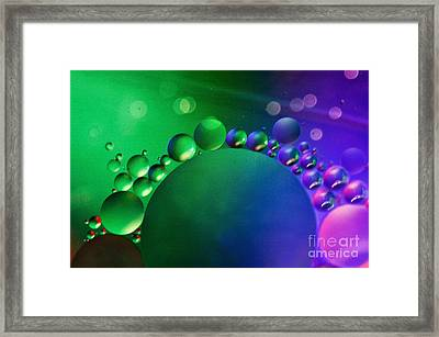 Intergalactic Space 4 Framed Print by Kaye Menner