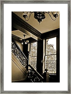 Interior Elegance Lost In Time Framed Print by DigiArt Diaries by Vicky B Fuller