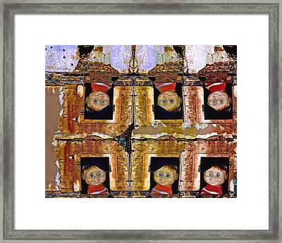 Interloper 8 Framed Print by Lynda Lehmann