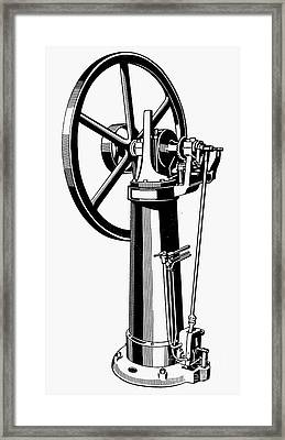 Internal Combustion Engine Framed Print by Granger