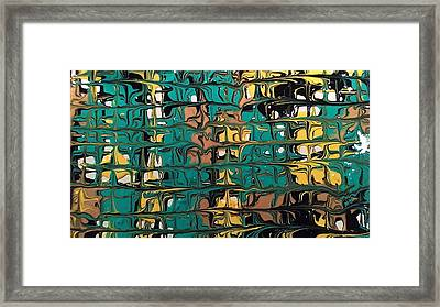 Intersection Framed Print by Lisa Williams