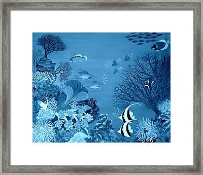 Into The Blue Yonder Framed Print by Fram Cama