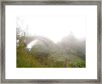 Into The Clouds Framed Print by Jonathan Lagace