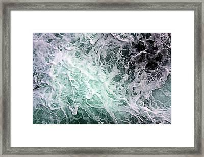 Into The Deep Framed Print by Kristin Elmquist