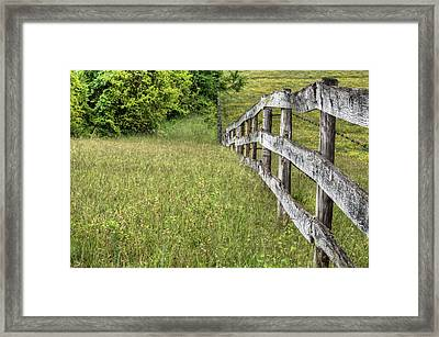 Into The Distance  Framed Print by JC Findley