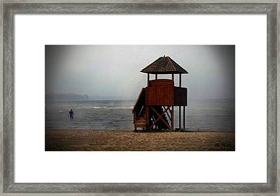 Into The Elements Of Nature Framed Print by Ms Judi