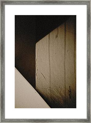 Into The Maze Framed Print by Odd Jeppesen